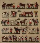 Verschiedene Hersteller: Kürassiere im Biwak, 1870 bis 1871