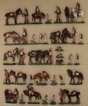 Verschiedene Hersteller: Kürassiere im Biwak oder rastend, 1870 bis 1871
