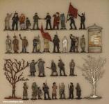 Diverse Hersteller: Lenin spricht zum Volk, 1917 bis 1918