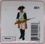 Prince August: Gießform: Musketier im Gefecht, 1712 bis 1786