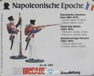 Schildkröt: Gießform: Zwei Linieninfanteristen, 1789 bis 1815