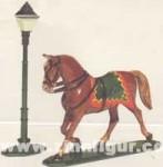 Schildkröt: Pferd im Trab und Laterne, 1871 bis 1918
