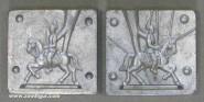 Prandell: Metallform: Reiter im Trab, 1871 bis 1918