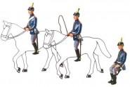 Schildkröt: Gießformen: 3 Aufsitzer für die Artillerie, 1871 bis 1918