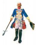 Prince August: Gießform: Infanterie-Offizier um 1750, 1712 bis 1786