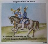 Airfix: Gießformen: Dragoner-Reiter, 1871 bis 1913