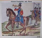 Airfix: Gießformen: Ulanen-Trompeter, Reiter, 1871 bis 1913