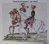 Airfix: Gießformen: Husar zu Pferd, Trompeter, 18. Jh. bis 20. Jh.