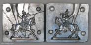 Prandell: Gießform: Dragoner, Trompeter zu Pferd, im Anreiten, 1871 bis 1918