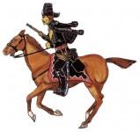 Prince August: Gießform: Husar zu Pferd, 1712 bis 1786