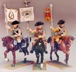 Prince August: Gießform: Kürassier-Standartenträger, 1756 bis 1763