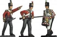 Prince August: Gießformen: Englische Infanterie im Gefecht, 1789 bis 1815