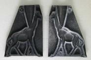Schneider/Replika: Aluminiumform: Giraffe