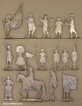 Verschiedene Hersteller: Vitrinenfiguren, 14. Jh. bis 19. Jh.