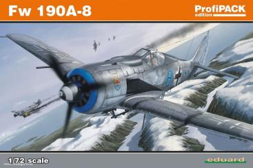 Fw 190A-8 w//universal Wings 1//72 Eduard Modellbausatz 7443 Weekend Edition