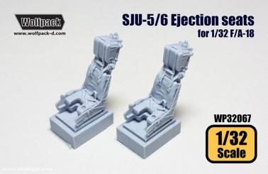 WP32051 Wolfpack 1//32 scale resin GRU-7//A Ejection seat