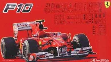 FUJIMI 09161 Ferrari 150 Italia Banco Santander GP52 in 1:20
