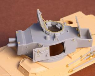 Toldi I SBS Model 1//35 Toldi 20 mm gun barrel for Hobbyboss kit