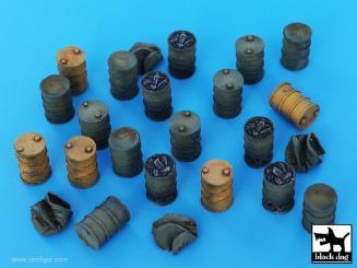 Black Dog T72082 1//72 US Jeep Accessories Set