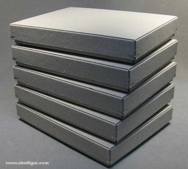 Lagerkarton, grau - 5er Pack