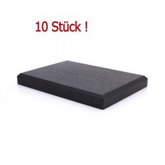 Zehn Sockel, Größe 85 x 120 mm, 10er Pack