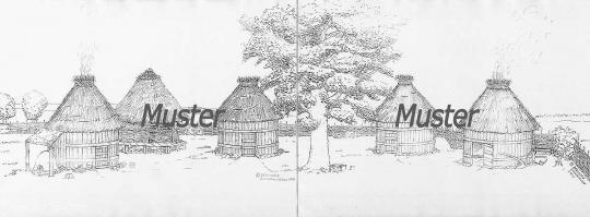 Germanisches Dorf (Hintergrund)
