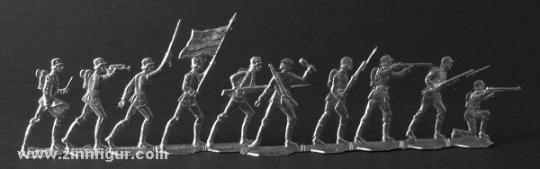 Reichswehr (Wehrmacht), Infanterie im Kampf