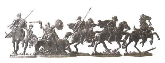 Cavalry, trotting