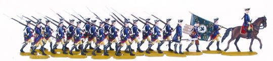 Musketiere, Marsch