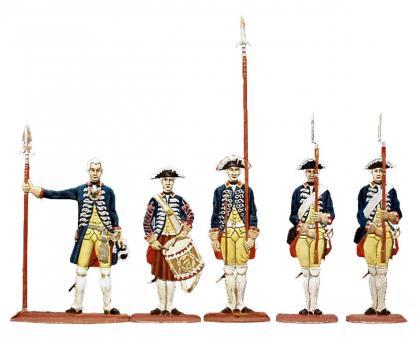 Wache der Leibkompanie des Ersten Bataillons Leibgarde (Regiment Nr. 15/1)