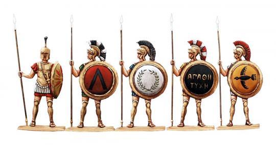 Palastwache: Griechische Hopliten