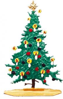 Weihnachtsbaum -Mini-