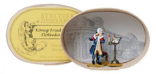 Friedrich II. beim Flötenkonzert