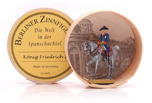 Friedrich II. zu Pferd