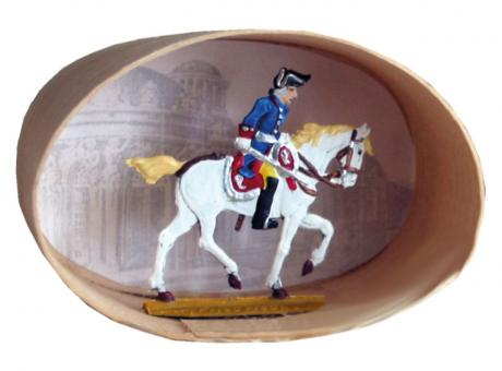 Friedrich II.zu Pferd