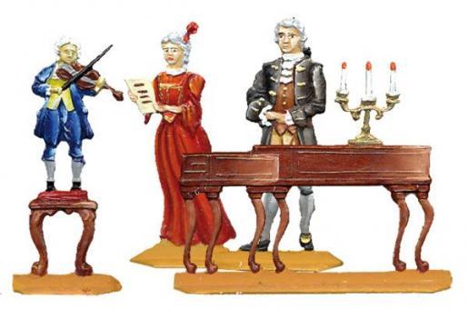 Der junge Mozart auf Konzertreise