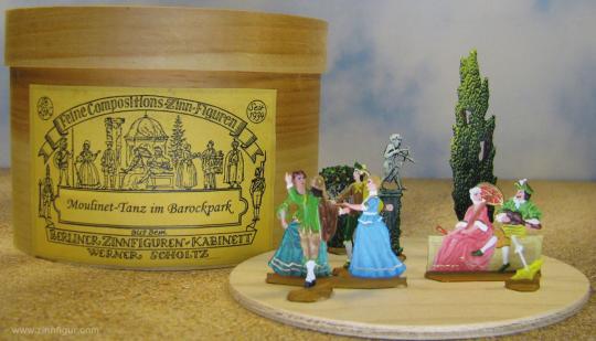 """Moulinet"" Tanz im Barockpark, Rokokozeit"