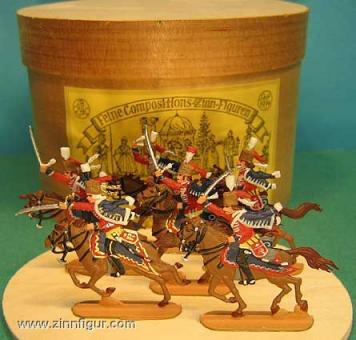Preußische Husaren, Angriff