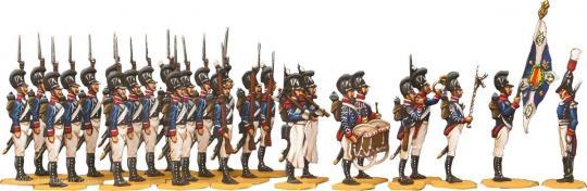 Baden 1805-12, Infanterie