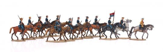 Northern States: Cavalry on the march.