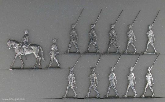 French Foreign Legion, on foot, marching