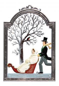 Month Ornament: January / Season Ornament: Winter