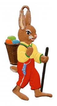 Ornament: Bunny on Travels