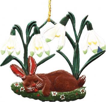 Ornament: Sleeping Rabbit