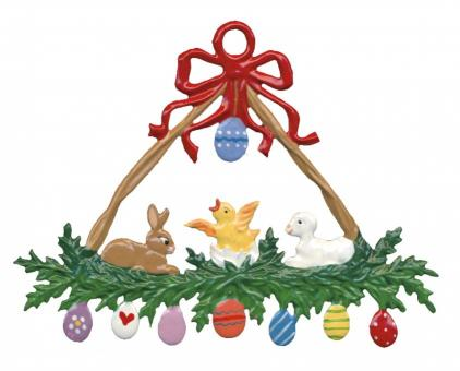 Ornament: Easter Wreath