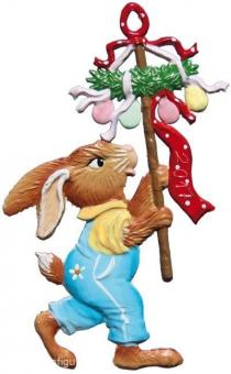 Ornament: Rabbit with Easter Decoration