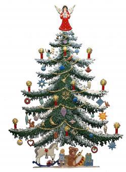 Großer Weihnachtsbaum (28 cm hoch!)