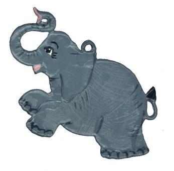 Ornament: Elephant