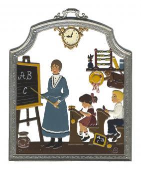 Berufetafel: Lehrerin - Schule