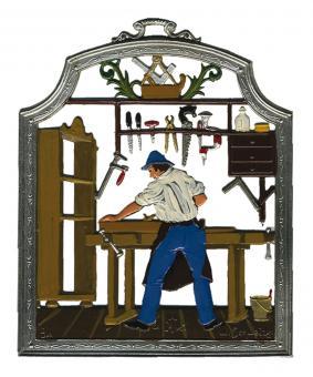 Ornament: Carpenter